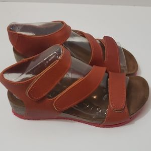 BIONATURA Leather Strappy Sandals size 36